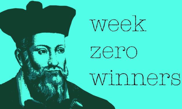 Week Zero Winners | Week Two 2021