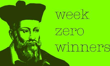 Week Zero's Winners | Week 11 2020
