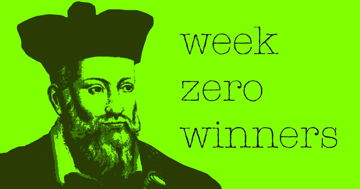 Week Zero Winners | Week Four 2021