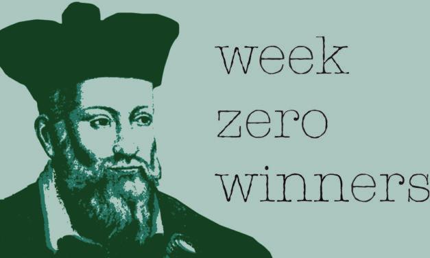 Week Zero Winners | Week Three 2021